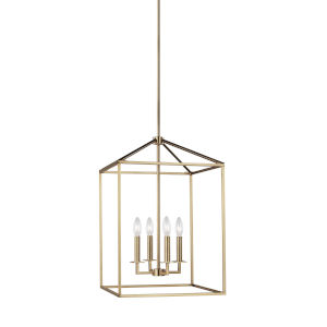 Perryton Satin Bronze Four-Light Pendant