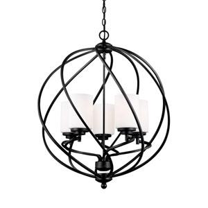 Goliad Blacksmith Energy Star Five-Light LED Pendant