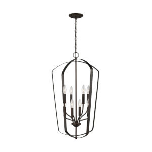 Romee Burnt Sienna Eight-Light Pendant