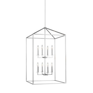 Perryton Chrome Eight-Light Pendant