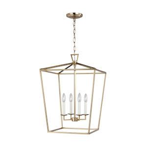 Dianna Satin Bronze Pendant with LED Bulbs