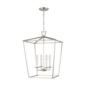 Dianna Brushed Nickel Pendant with LED Bulbs