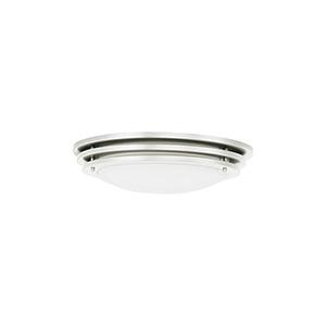 Nexus Brushed Nickel 15-Inch LED Flush Mount