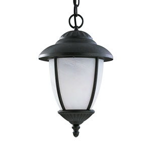 Yorktown Black Energy Star LED Outdoor Pendant
