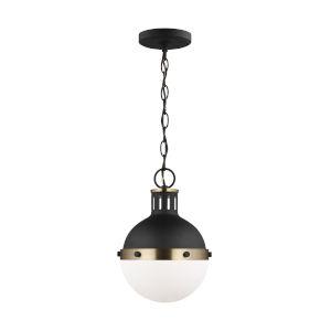 Hanks Midnight Black Mini Pendant with LED Bulb