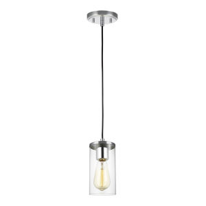 Zire Chrome LED Mini Pendant