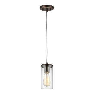 Zire Brushed Oil Rubbed Bronze LED Mini Pendant