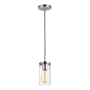 Zire Brushed Nickel LED Mini Pendant