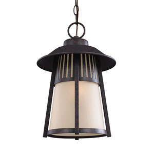 Hamilton Heights Oxford Bronze Energy Star LED Outdoor Pendant