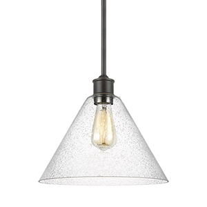 Elsa Heirloom Bronze 12-Inch One-Light Pendant