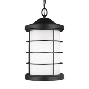 Sauganash Black Energy Star LED Outdoor Pendant