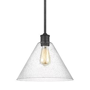 Morill Blacksmith 12-Inch One-Light Pendant