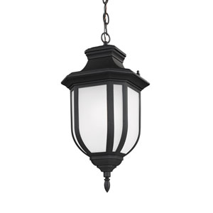Childress Black Energy Star LED Outdoor Pendant