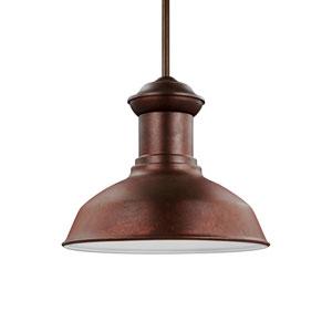 Fredricksburg Weathered Copper Energy Star LED Outdoor Pendant