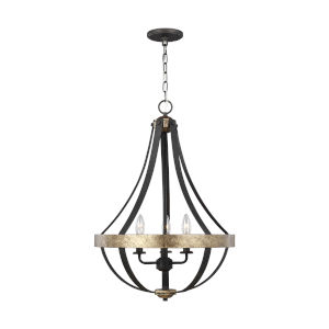 Davlin Smith Steel Three-Light Pendant