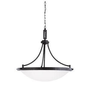 Winnetka Blacksmith Energy Star Four-Light LED Pendant