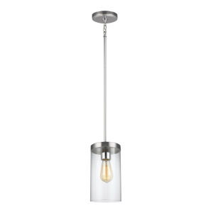 Zire Chrome Six-Inch LED Mini Pendant