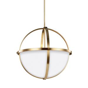 Alturas Satin Bronze Energy Star Three-Light LED Pendant