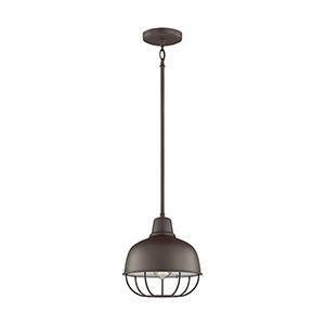 Jeyne Heirloom Bronze 10-Inch One-Light Pendant