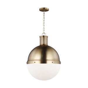 Hanks Satin Bronze 16-Inch Pendant