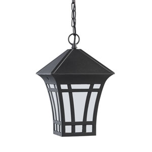 Herrington Black Energy Star LED Outdoor Pendant