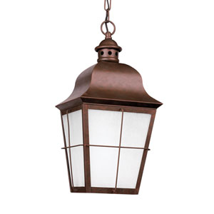Chatham Weathered Copper Energy Star LED Outdoor Pendant