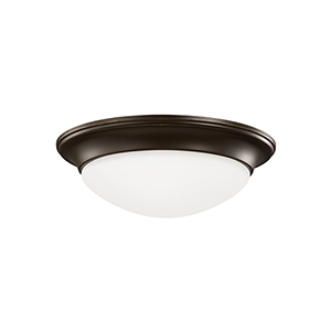 Nash Heirloom Bronze 14-Inch LED Flush Mount