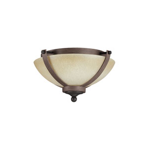Corbeille Stardust Energy Star Two-Light LED Flush Mount