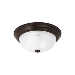 Windgate Heirloom Bronze Energy Star Two-Light LED Flush Mount