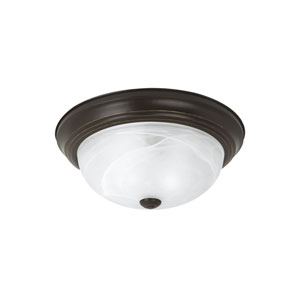 Windgate Heirloom Bronze Energy Star Three-Light LED Flush Mount