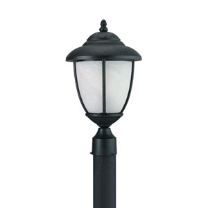 Yorktown Forged Iron Energy Star LED Outdoor Post Lantern