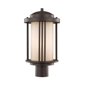 Crowell Antique Bronze Energy Star LED Outdoor Post Lantern