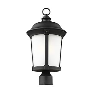 Calder Black Energy Star 10-Inch One-Light Outdoor Post Lantern