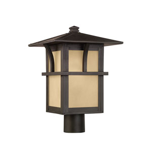 Medford Lakes Statuary Bronze Energy Star LED Outdoor Post Lantern