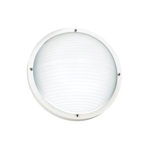 Bayside White Energy Star LED Outdoor Wall Mount