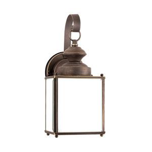Jamestowne Antique Bronze Energy Star Five-Inch LED Outdoor Wall Lantern