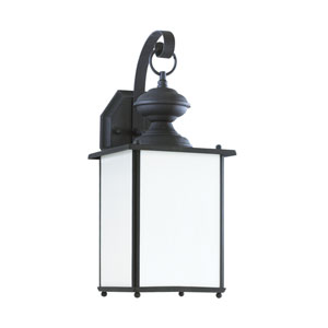Jamestowne Black Energy Star LED Outdoor Wall Lantern