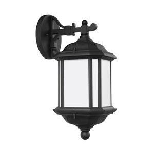 Kent Black Energy Star Seven-Inch LED Outdoor Wall Lantern