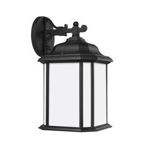 Kent Black Energy Star Nine-Inch LED Outdoor Wall Lantern