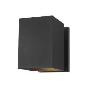 Pohl Black Small One-Light Outdoor Wall Sconce