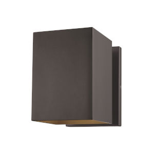 Pohl Bronze Seven-Inch One-Light Outdoor Wall Sconce