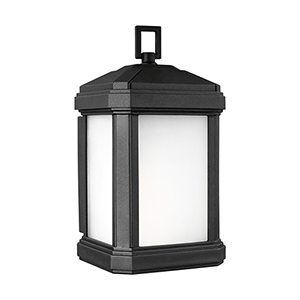 Gaelan Black Energy Star Five-Inch One-Light Outdoor Wall Sconce