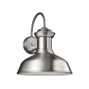 Fredricksburg Satin Aluminum Energy Star 13-Inch LED Outdoor Wall Lantern