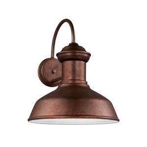Fredricksburg Weathered Copper Energy Star 13-Inch LED Outdoor Wall Lantern