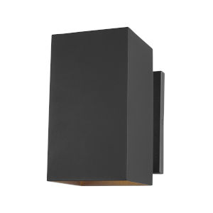 Pohl Black One-Light Outdoor Wall Sconce