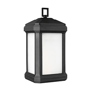 Gaelan Black Nine-Inch One-Light Outdoor Wall Sconce