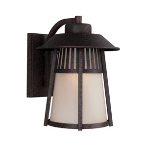 Hamilton Heights Oxford Bronze Energy Star LED Outdoor Wall Lantern
