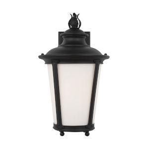 Cape May Black Medium LED Outdoor Wall Lantern