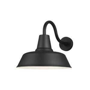 Barn Light Black Extra Large LED Outdoor Turtle Friendly Wall Lantern