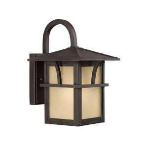 Medford Lakes Statuary Bronze Energy Star 11-Inch LED Outdoor Wall Lantern